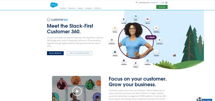 Salesforceのcustomer360