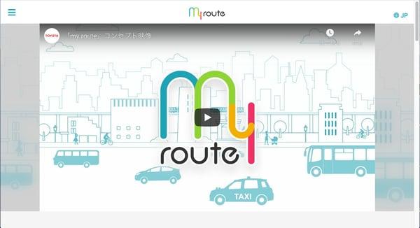 my routeのトップ画像