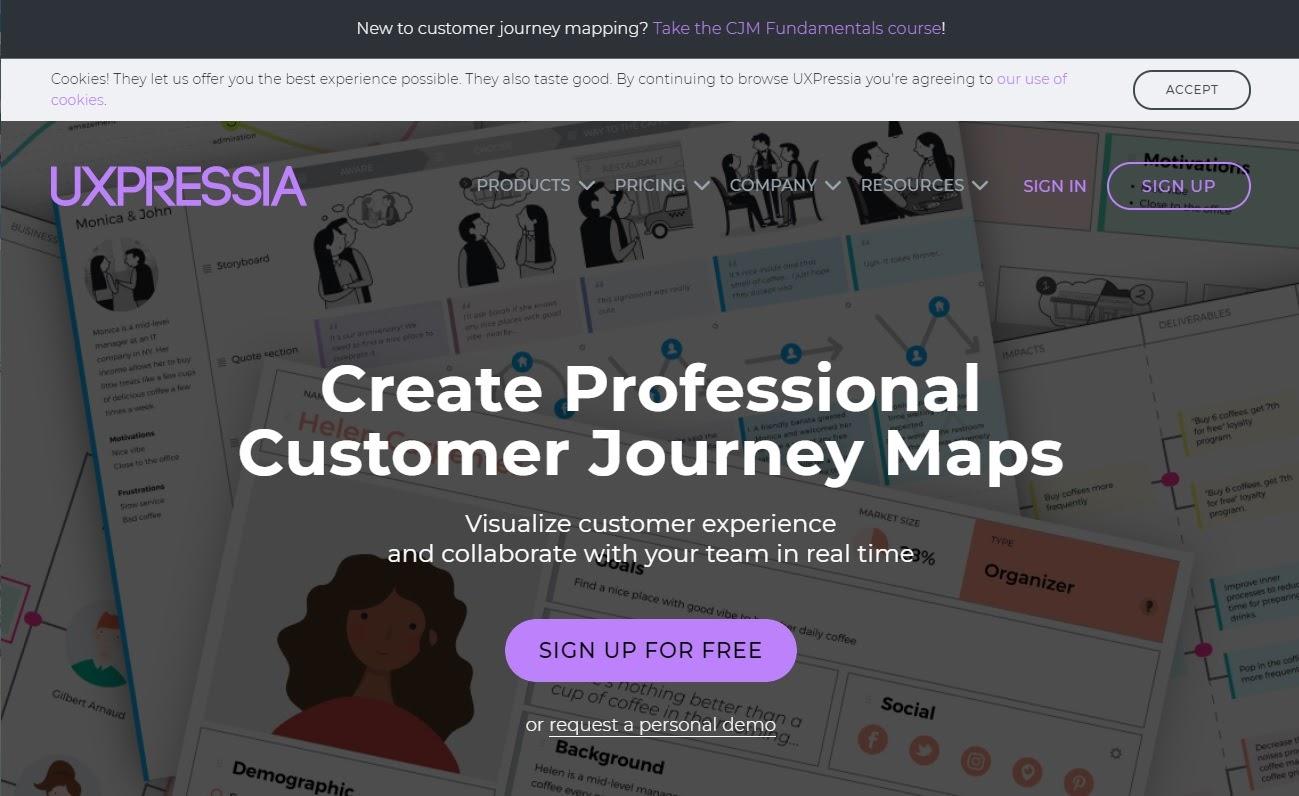 UEPRESSIAのウェブサイト
